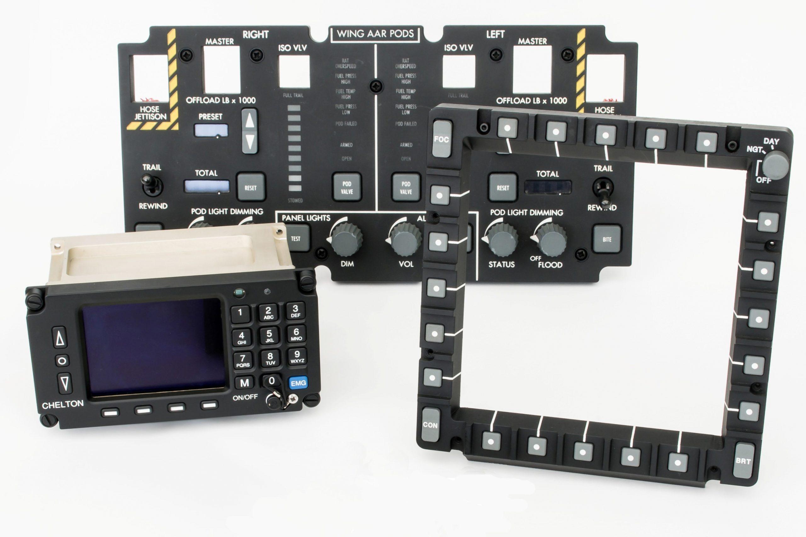 Illuminated control panels