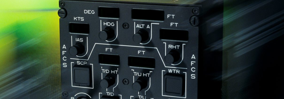 Illuminated control panels
