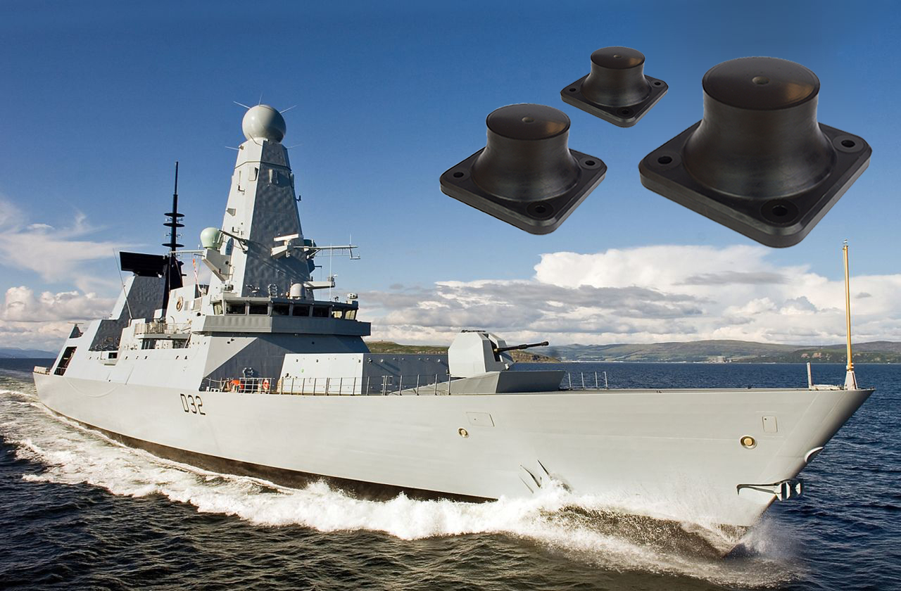 GB730 Naval Shock Isolators, Vibration Isolators